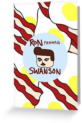 Ron F***ing Swanson by ilonatoth