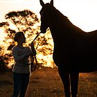 There is no bond like that between a girl and her horse by Brian Edworthy