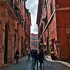 ROME - STREETSCAPE (1)  by vaggypar