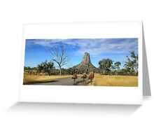 Central Queensland Australia Greeting Card