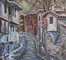 The Old Plovdiv - Winter Day by Stefano Popovski