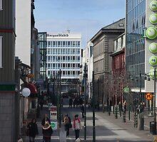 Austurstræti (East street) by Þórdis B.