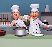 Too Many Cooks by Liam Liberty