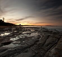 Fishermans Beach Collaroy NSW by MiImages