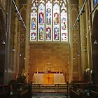 Altar—Saint David's Cathedral, Hobart by Brett Rogers