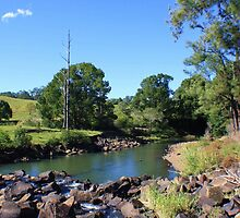 oxley river - tyalgum ... by gail woodbury