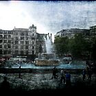 Trafalgar Square by Benedikt Amrhein