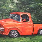 Modified Vintage Truck by Judy Bergmann