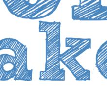 Tom Baker will always be my Doctor Sticker