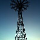 Parachute Drop - Coney Island by Amanda Vontobel Photography
