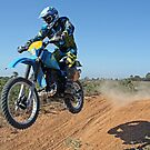 Motorbike Action by WendyJC