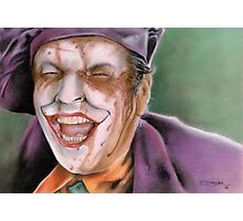The Melting Joker Photographic Print