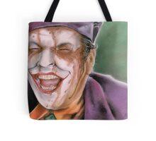 The Melting Joker Tote Bag