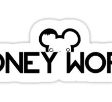 DIDNEY WORL. Sticker