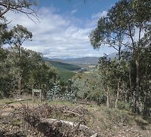 Ovens Valley from Myrtelford Lookout  2012 04183513 by Fred Mitchell