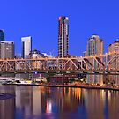 Story Bridge, Brisbane, Queensland, Australia by Michael Boniwell