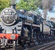 Steam double header. by Kit347