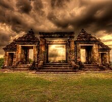 Ratu Boko - an ancient Indonesian Kingdom by Jimmy McIntyre