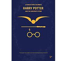 No101 My Harry Potter minimal movie poster Photographic Print