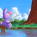 Gone fishing by Alexandra Salas
