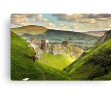 Peveril Castle, Castleton Canvas Print