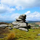 Hathersage Budda - The Rock Man by Mark Baldwyn