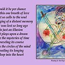 Poetry in Art - Embrace the Mystery by Robin Monroe
