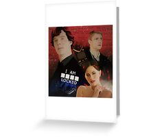 A scandal in Belgravia Greeting Card