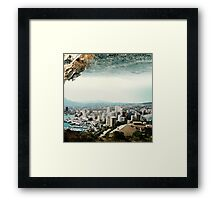 The Edge of a Parallel World Framed Print
