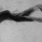 Prone Female Shadow Figure by Johanus Haidner