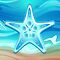 Greeting Card Starfish by Medusa81