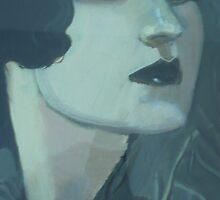 Blue Eyeshadow by Maureen Rocks-Moore