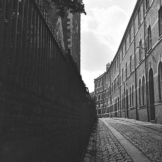 City of York Back Street by Mark Baldwyn
