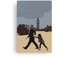 London Matrix, Agent Smith's Recruit Canvas Print