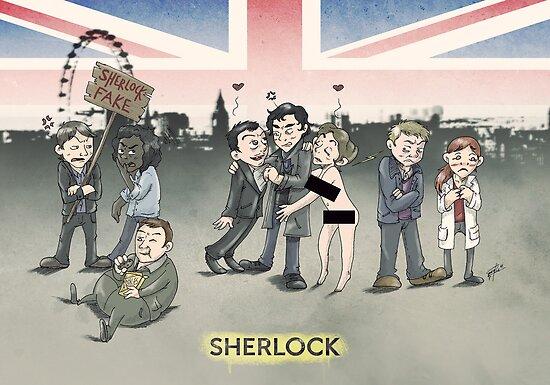 Sherlock group tensions by GakiRules