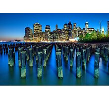 Brooklyn Blues Photographic Print