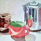 Reflections of Breakfast Coffee by Nancy Pratt