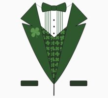 Irish Green Tuxedo T-Shirt Kids Clothes