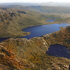 Beautiful Tasmania - overflying Dove Lake by georgieboy98