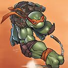 Michelangelo - TMNT by Nick Symeou