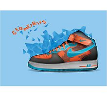 Nike Shoes - Geometrics Photographic Print