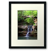 Springtime at Upper Falls Framed Print
