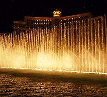 Hey Big Spender - Bellagio fountain - Vegas by Chris Brunton