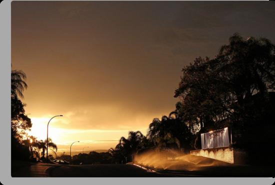 Suburban Sunrise  by EOS20