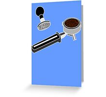 Coffee Monkey - Tools of the trade Greeting Card