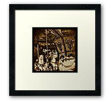 Childhood Glimpses Framed Print