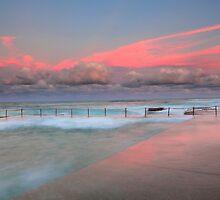 Sunset at Avalon Beach by Cameron B