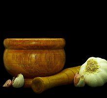Garlic Smashing by photoshot44