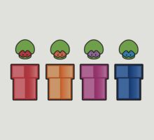 Teenage Mutant Ninja Mushrooms by karlangas