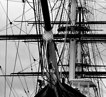 The Cutty Sark Bow by Karen Martin